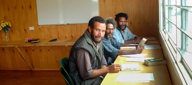 Yuna Translators in remote PNG