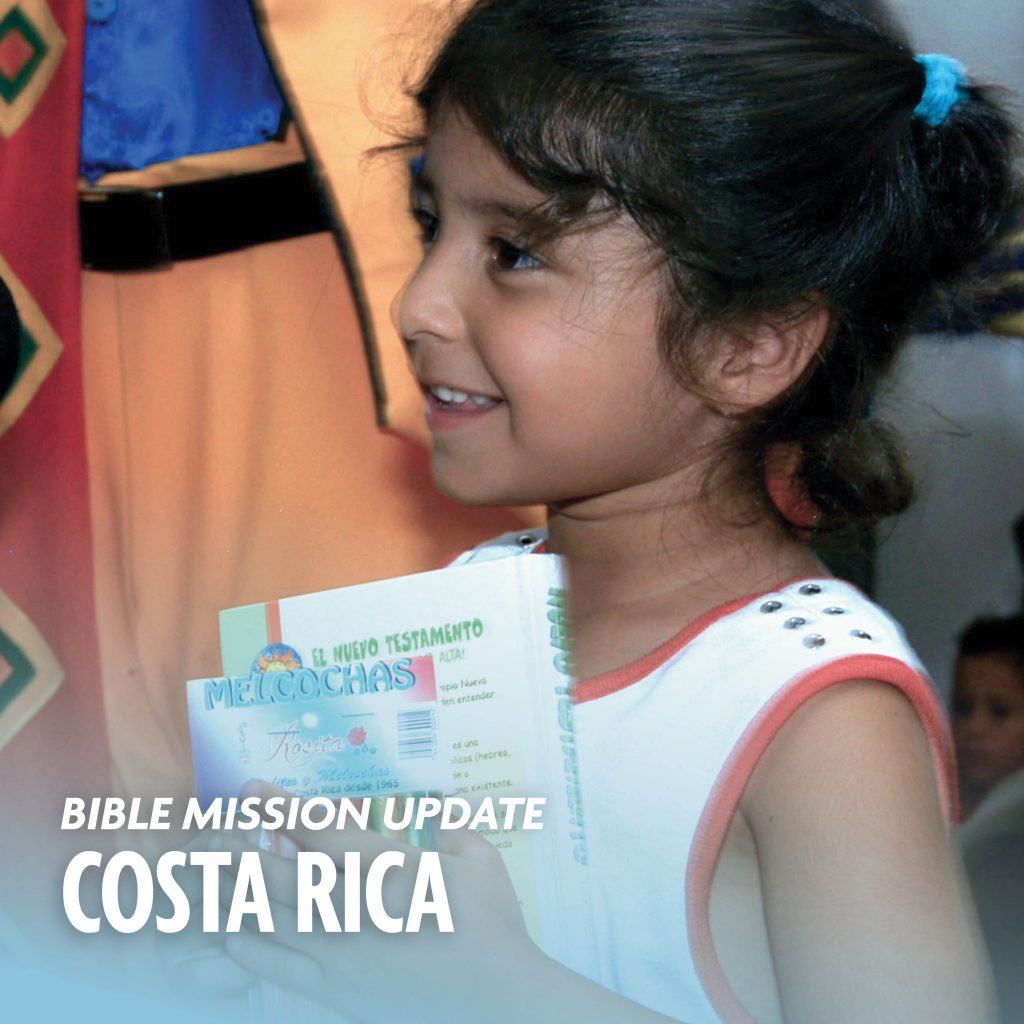 Bible mission update Costa Rica