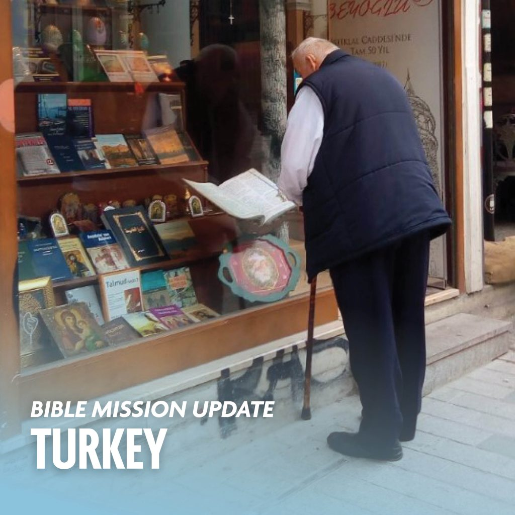 Bible mission update Turkey