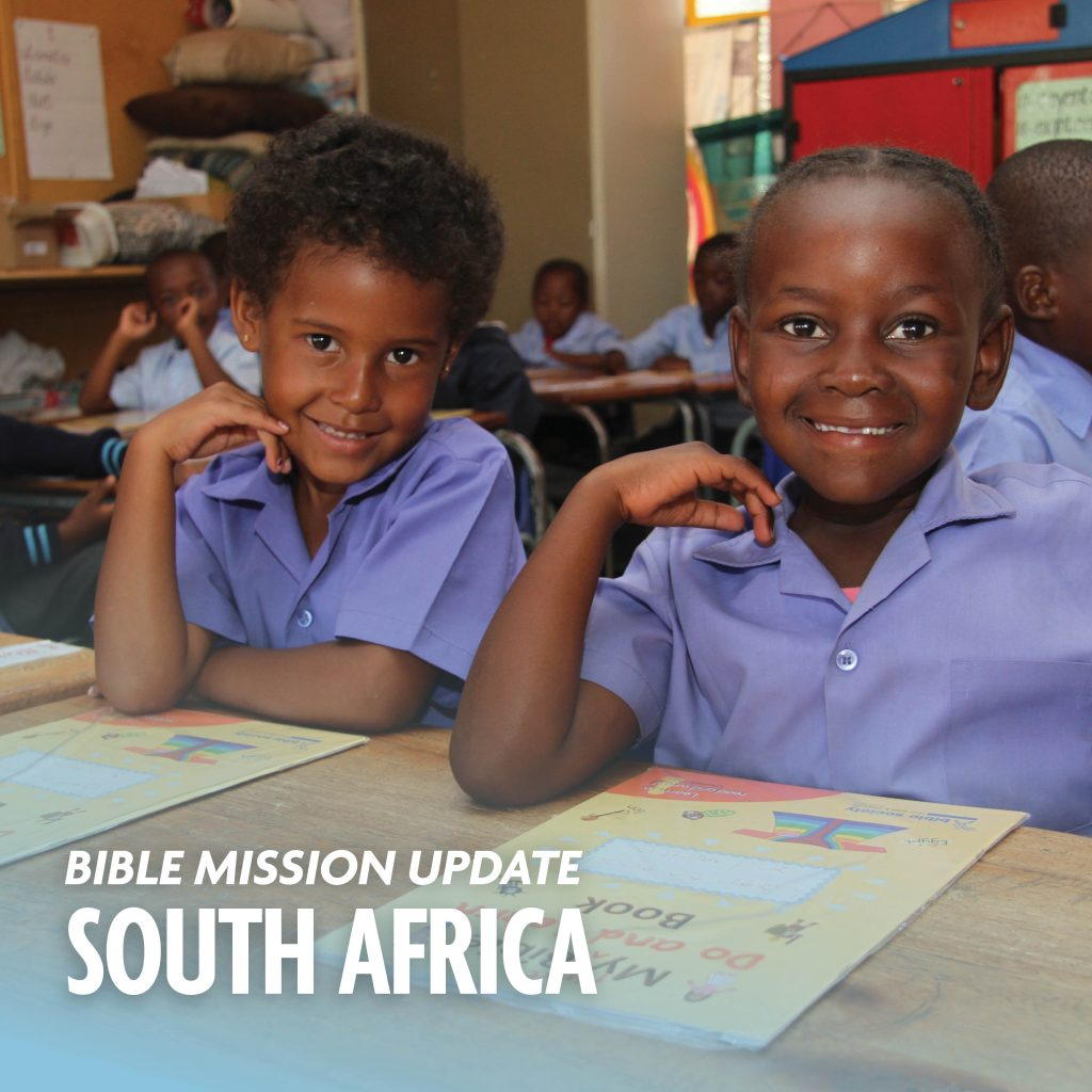 Bible mission update South Africa