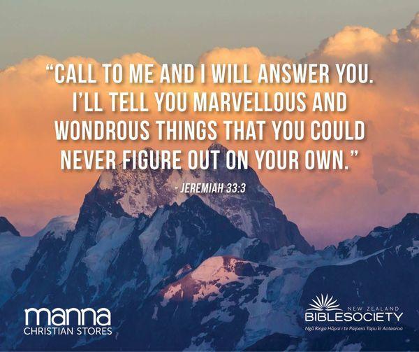 Jeremiah 33:3