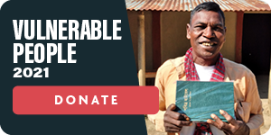 Bibles for Vulnerable people donate